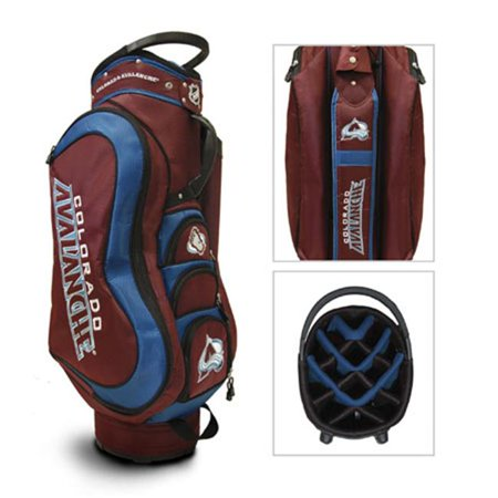Team Golf 13635 Colorado Avalanche Medalist Cart Bag by