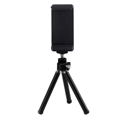 """eCostConnection 7"""" Extendable Mini Tripod + with Universal Smartphone Mount and Bluetooth Wireless Remote Control Camera Shutter for Smartphones & Microfiber Cloth - image 5 de 8"""