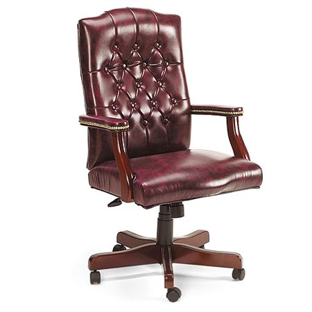 Classic Executive Chair  Oxblood Vinyl
