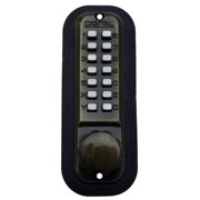 Lockey 2230DC Double Sided Mechanical Spring Deadlatch with Keyless Entry from the 2000 Series