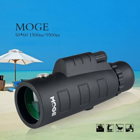 50X60 Zoom Monocular Optical HD Lens Telescope With Tripod & Mobile Phone Clip - image 9 of 10