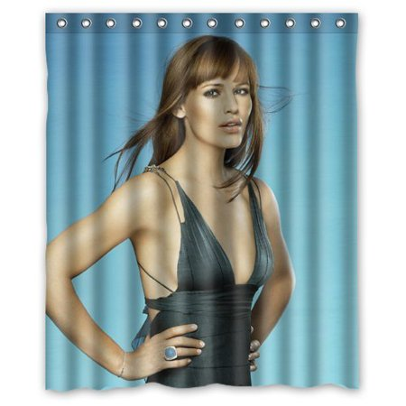 Deyou Luxry Jennifer Garner Cool Shower Curtain Polyester Fabric Bathroom Shower Curtain Size 60X72 Inches