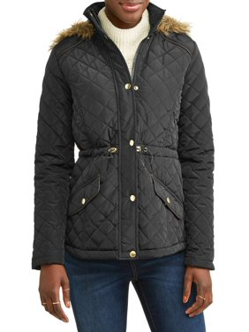 58919fae81 Product Image Women's Quilted Anorack With Faux Fur Hood. Product TitleJASON  MAXWELLWomen's ...