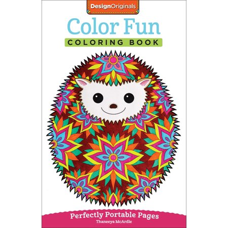 On-The-Go! Coloring Book: Color Fun Coloring Book: Perfectly Portable Pages (Paperback) - Fun Coloring Sheets