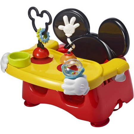Disney Mickey Mouse Booster Seat, Helping Hands Feeding and Activity Seat