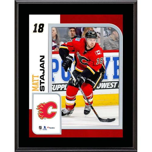 "Matt Stajan Calgary Flames 10.5"" x 13"" Sublimated Player Plaque - No Size"