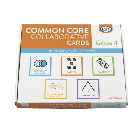 Didax Common Core Collaborative Cards  Grade 4