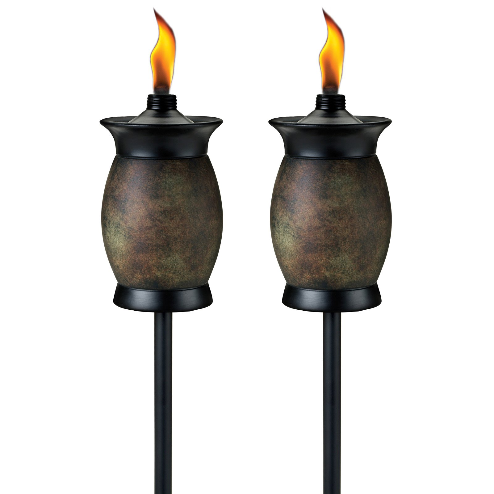 Tiki 4-in-1 Resin Jar 64 in. Outdoor Torch