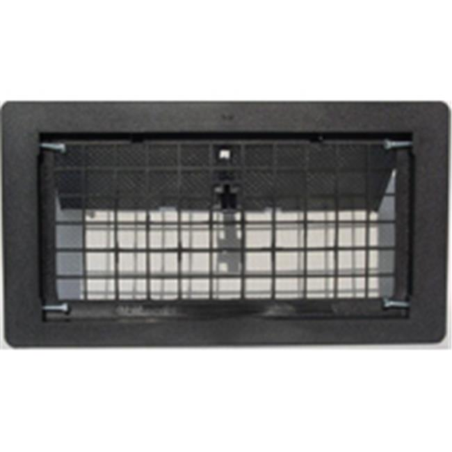 Witten Automatic Vent 500BL Manual Foundation Vent With Damper Black