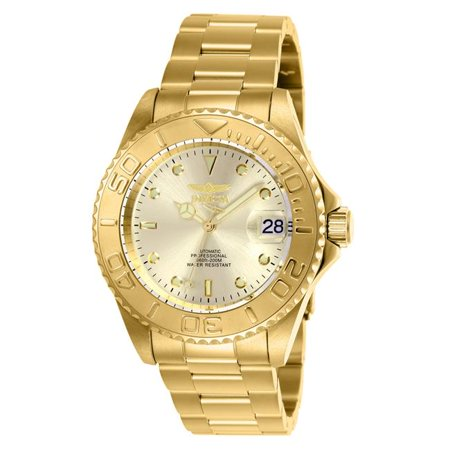 4db031511 Invicta 9010OB Mens Pro Diver Automatic 3 Hand Dial Watch, Champagne -  image 1 of ...