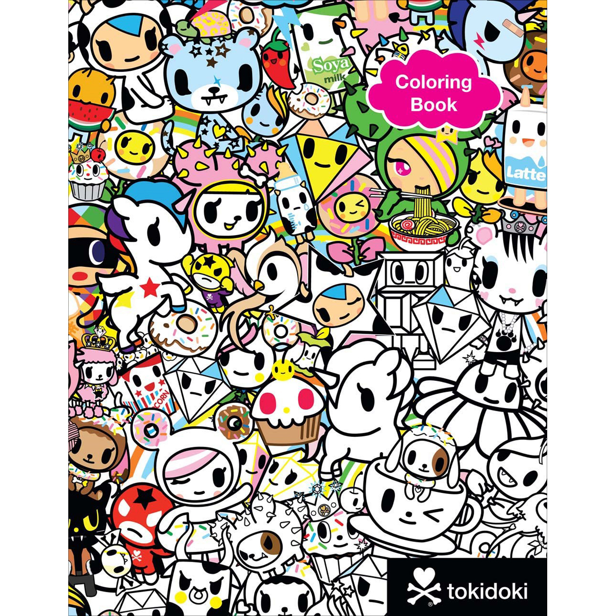 - Sterling Publishing-Tokidoki Coloring Book - Walmart.com - Walmart.com