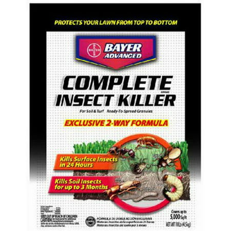 Bayer Complete Insect Killer (Best Complete Insect Killer for Surface and Soil Insects by Bayer - 10-Pound )