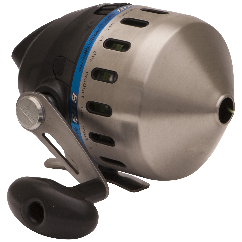 Zebco 808 Bowfisher Reel with 80 lb Braid W