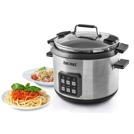 Aroma 6 Quart 1 Lb. Pasta 20 Cup Rice Programmable Cooker (Hello Kitty Rice Cooker)