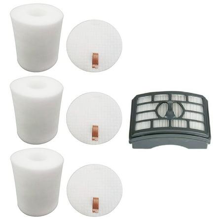 HEPA Filter & 3 Foam Filter Sets for Shark Rotator Pro -