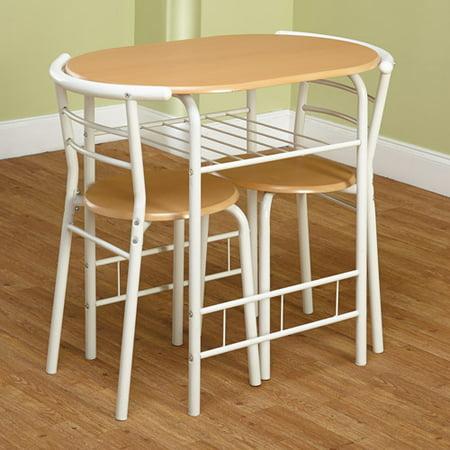 3 piece bistro set multiple colors walmartcom - Kitchen Bistro Tables And Chairs