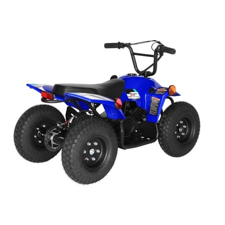 T4B SPARK Mini ATV 250W Brushless Electric KIDS Dirt Quad, 24V13.7Ah, All Terrain, Recreational Outdoors, Off-Road, 3-6 y.o. - Blue - image 6 of 11