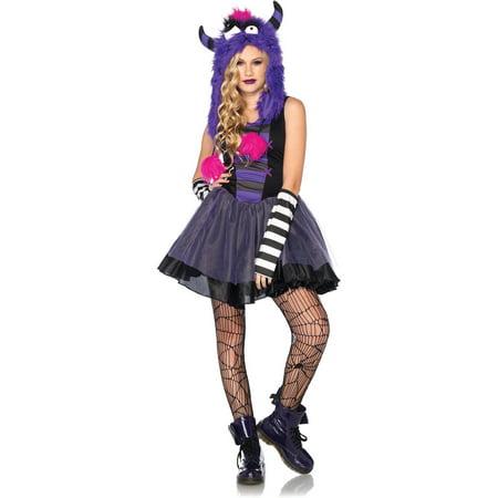 Junior Punky Monster Teen Halloween Costume