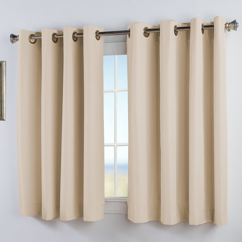 Ricardo Trading Elegance Insulated Short Curtain Panel