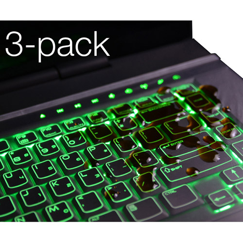 "Green Onions Supply X-Style Universal Keyboard Protector for 17"" Laptops"