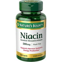 Nature's Bounty Niacin Flush Free