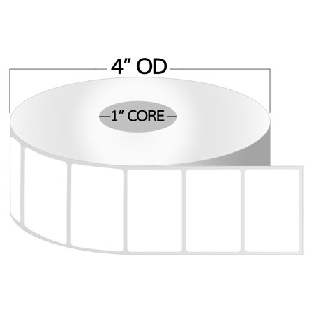 3.125 Inch Direct Thermal - OfficeSmartLabels 2.25