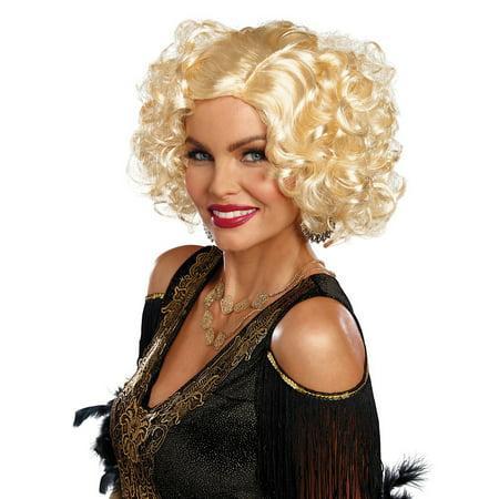 Retro Camp Curls Wig Adult Costume Accessory - Jeri Curl Wig