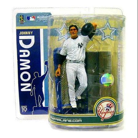 (McFarlane MLB Sports Picks Series 19 Johnny Damon Action Figure [White Jersey])