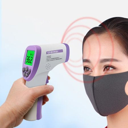 Portable Non-Contact Infrared Thermometer High Precision Thermometer - image 2 de 8