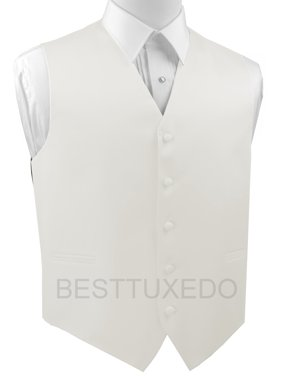 Italian Design, Men's Formal Tuxedo Vest for Prom, Wedding, Cruise , in Ivory