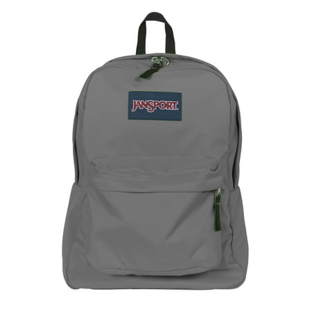 Jansport Superbreak Backpack (Forge Grey) - Walmart.com