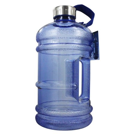 Liter Water Bottle - New Wave Enviro Products - 2.2 Liter BPA Free Water Bottle with Handle
