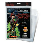 """8.75"""" x 10.5"""" Resealable Magazine Comic Bags by Ultra Pro"""