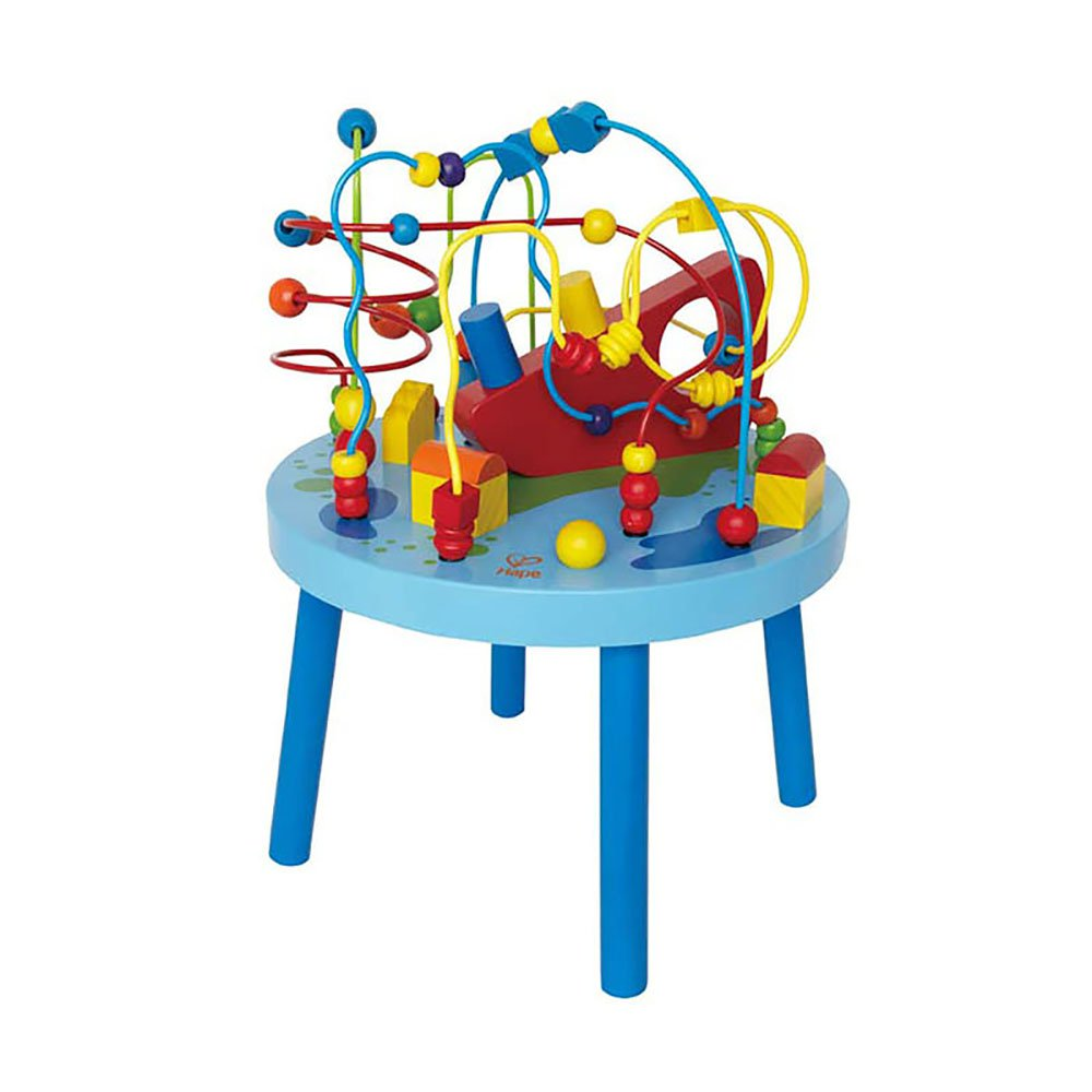 Hape Ocean Adventure Learning and Development Wooden Toddler Activity Table