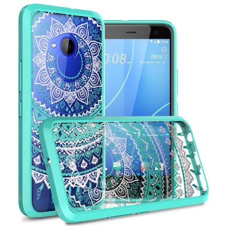 CoverON HTC U11 Life Case, ClearGuard Series Clear Hard Phone Cover (HTC Edge Sense Compatible) ()