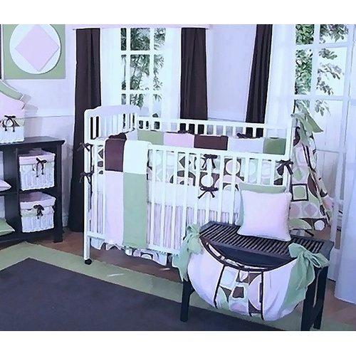 Brandee Danielle Modern Baby Girl Dust Ruffle by Brandee Danielle
