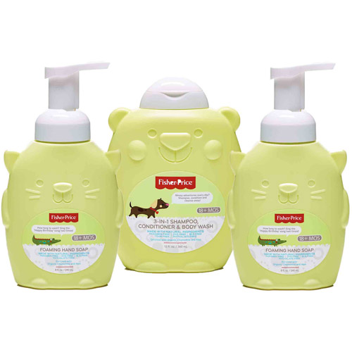 Fisher-Price Toddler Bath & Body Variety Gift Set, 3 pc