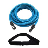 Reliable Outdoor Gear Swimming Belt for Stationary Resistance Training with Drag Parachute Elastic Tether