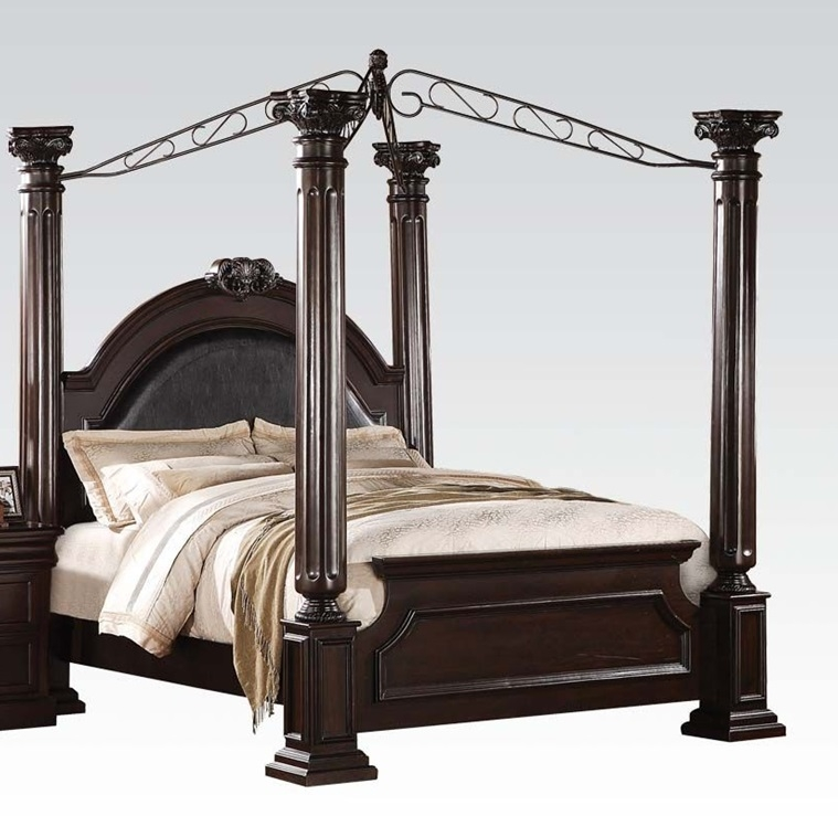 Acme Furniture Roman Empire II Canopy Bed