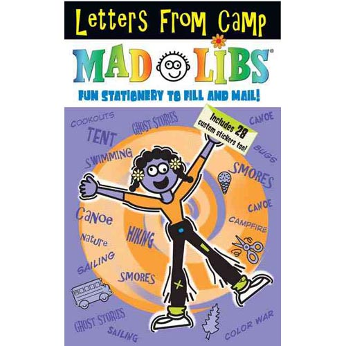 Letters from Camp Mad Libs: Fun Stationery to Fill out and Mail!