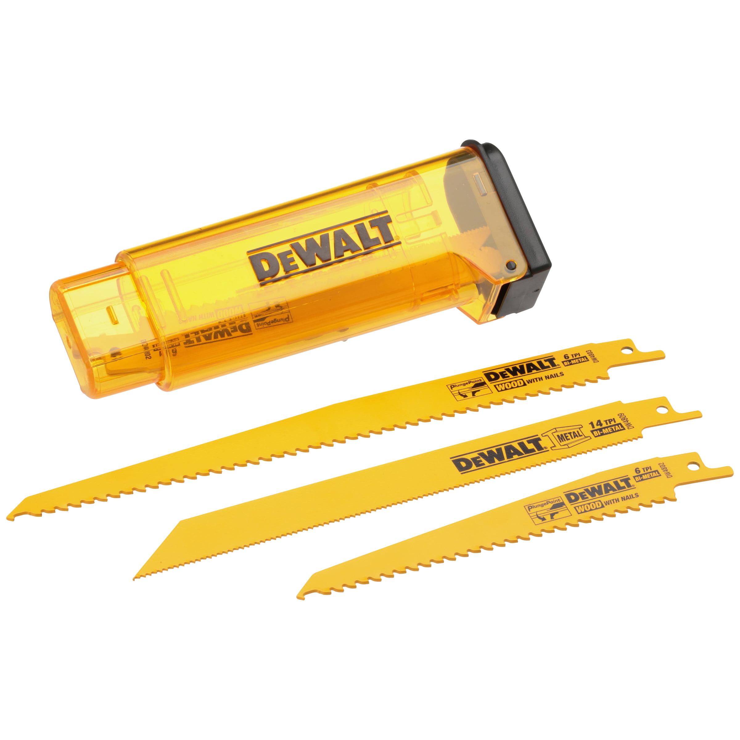 Dewalt® Reciprocating Saw Blade Kit 11 pc Carded Pack