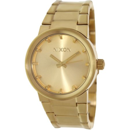 Nixon Men's Cannon A160502 Gold Stainless-Steel Quartz Dress Watch
