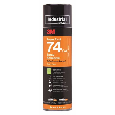 3M 62-4880-4930-5 Low VOC Spray Adhesive, 24 oz. by 3M