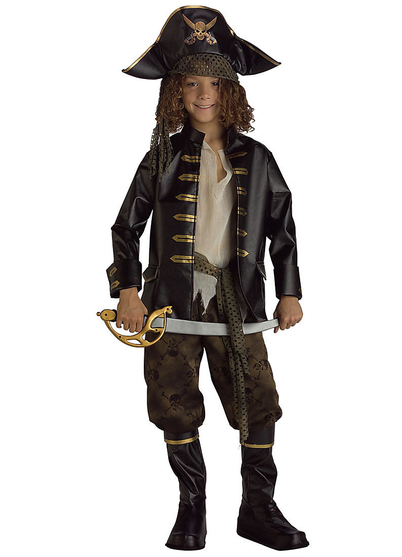 Child Pirate Captain Costume Rubies 882895 by Rubies