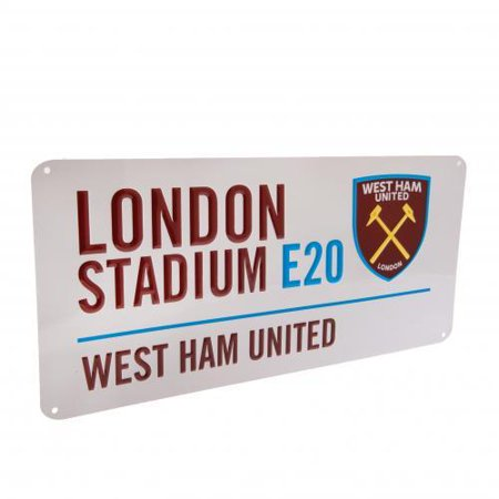 West Ham United FC  - London Stadium Street Sign ()