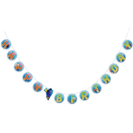 Finding Dory Birthday Party Decoration Banner, 9 - Finding Nemo Birthday Party Decorations