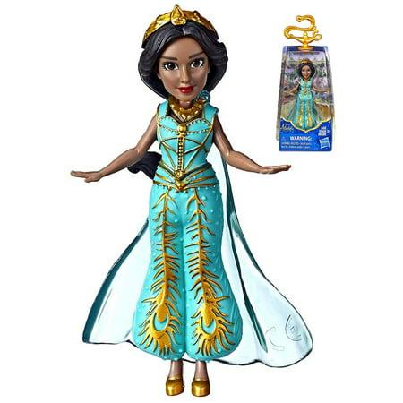Jasmine Blue Dress Aladdin 2019 Movie Action Figure 3.5