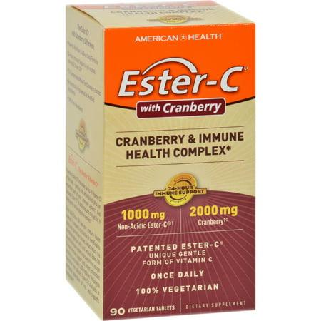 American Health Ester-C Urinary Tract Formula 90 Veg Tabs