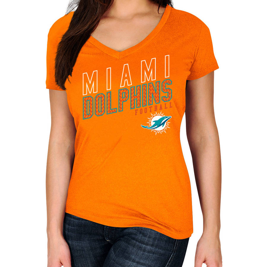 NFL Miami Dolphins Plus Size Women's Basic Tee