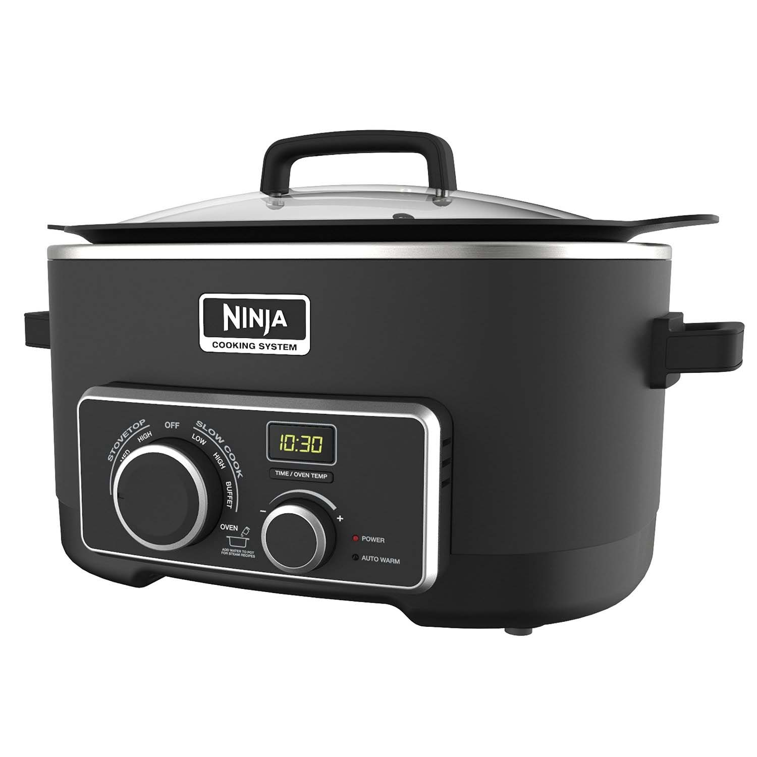 Ninja Multi Cooker 3-in-1 6-Quart Digital Cooking System (Certified Refurbished)